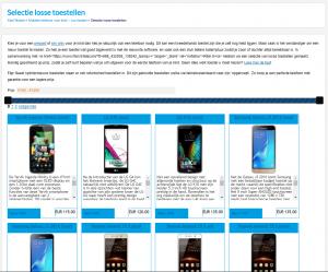 losse mobiel telefoon kopen