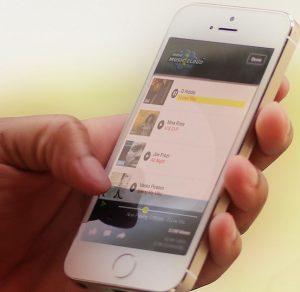 Kind-mobiel telefoon